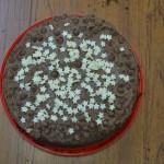 Chocolate Cake Making