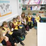 Class One visit Tescos