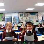 Our first ever virtual Christmas performance